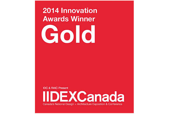 Organoid Award Iidex Canada Gold